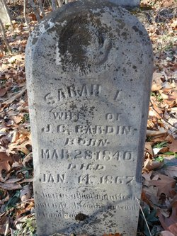 Sarah L. <i>Clement</i> Cardin