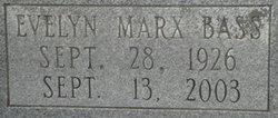 Evelyn Mary <i>Marx</i> Bass