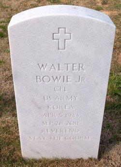 Rev Walter Bowie, Jr