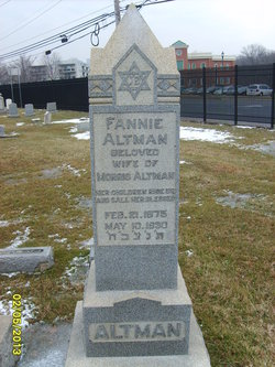 Fannie <i>Wolfson</i> Altman