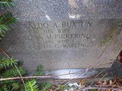 Edna Mae <i>Pickering</i> Buxton