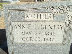 Annie Lela <i>Smith</i> Gentry