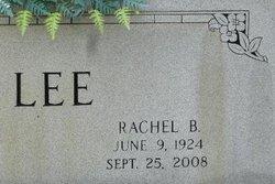 Rachel B Lee