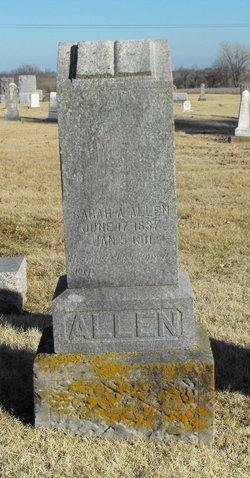 Sarah A. Allen