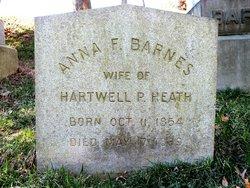 Anna Fauntleroy <i>Barnes</i> Heath