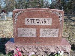 Amanda Jane <i>Jones</i> Stewart