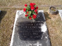 Mary Annie Laurie <i>Stoudenmire</i> Sellers