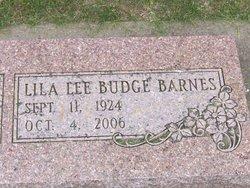 Lila Lee <i>Budge</i> Barnes