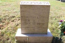 Aubrey Duckworth