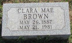 Clara Mae <i>Adams</i> Brown