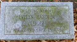 Evelyn <i>Handler</i> Geiger