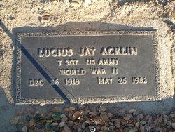 Lucius Jay Acklin