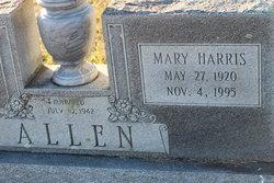 Mary <i>Harris</i> Allen