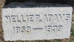 Sarah Helen Nellie <i>Richardson</i> Adams