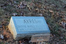 Nannie Mabel <i>Stanton</i> Ayres