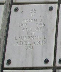 Edith Johanna Sofia Abelard