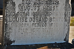 Louise <i>Durand</i> Benton