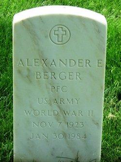 Alexander E Berger
