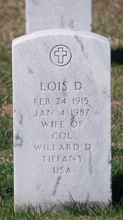 Lois D Tiffany