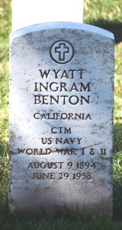 Wyatt Ingram Benton