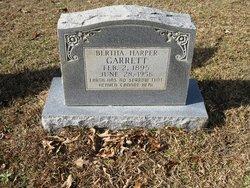 Bertha <i>Harper</i> Garrett