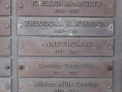 Anne <i>Deeds</i> Thomas