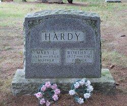 Mary L <i>Richens</i> Hardy