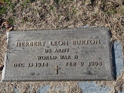 Herbert Leon Burton