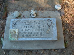 Phyllis Louise Aday-Odell