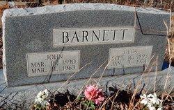 Olga <i>Cartwright</i> Barnett