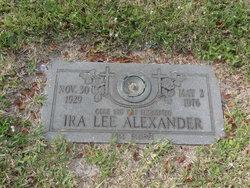 Ira Lee Alexander