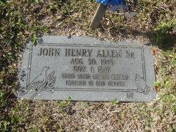 John Henry Allen, Sr
