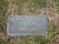 Infant Daughter Stevens