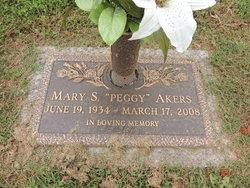 Mary Peggy <i>Stultz</i> Akers