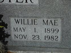 Willie Mae <i>Fillyaw</i> Lancaster