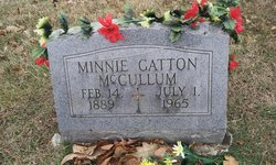 Minnie Alice <i>Young</i> McCullum
