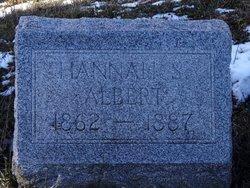 Hannah Lurilla <i>Shaw</i> Albert