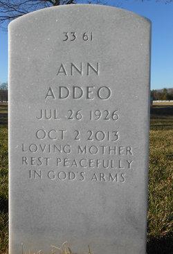 Ann <i>Peluso</i> Addeo