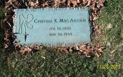 Crescentia K. Cynthia <i>Riester</i> MacArthur