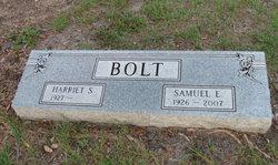 Harriet <i>Sturgis</i> Bolt