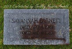 Savannah <i>Henderson</i> Barnett