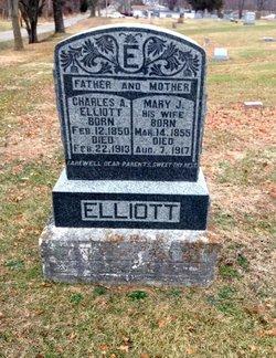 Mary J. <i>York</i> Elliott