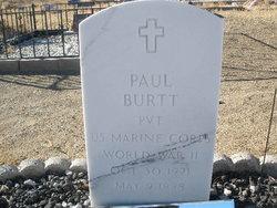Pvt Paul Bogart Burtt