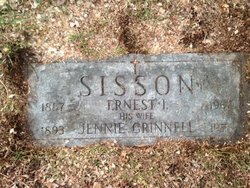 Jennie <i>Grinnell</i> Sisson