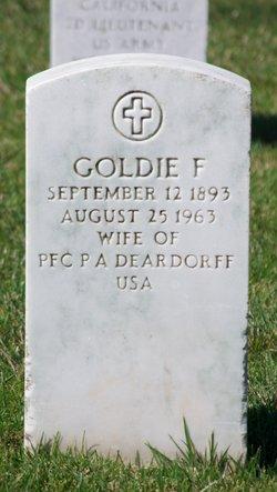 Goldie F Deardorff