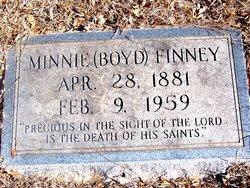Minnie Elizabeth <i>Alderson</i> Finney