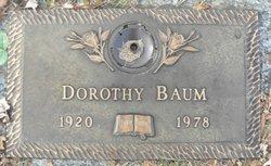 Dorothy May Baum