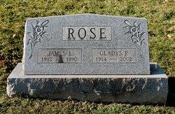 Gladys P. <i>Clawson</i> Rose