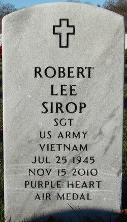 Robert Lee Sirop