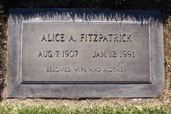 Alice A. <i>Hooper</i> Fitzpatrick